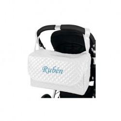 Bolso Solapa Plastificado Personalizado Bebé