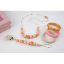 Pack Lactancia Basic  (collar + cadenita silicona)