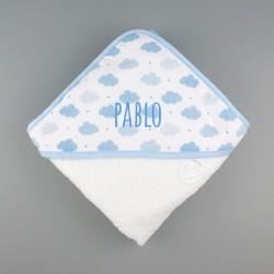 Capa de baño  Nubes  Personalizada