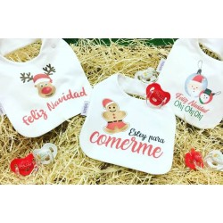 Babero Navidad