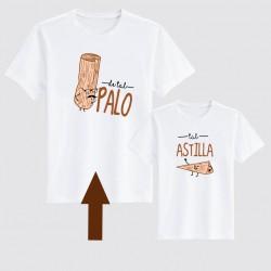 Camiseta papá de tal palo...