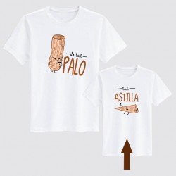 Camiseta hij@ ...tal astilla