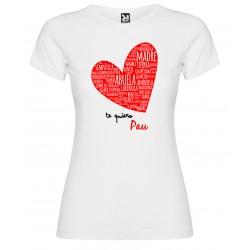 Camiseta corazón MAMA