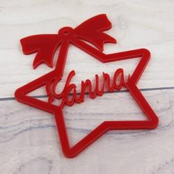 Adorno Arbol Navidad Redondo Dm