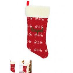 Calcetín Navidad reno2