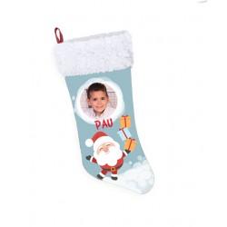 Calcetín Navidad renos