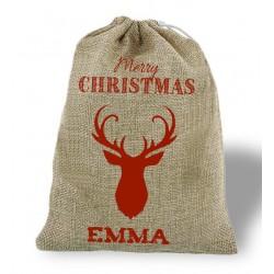 Saco Navidad Reno