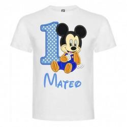 Camiseta cumple Minnie