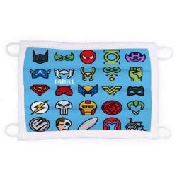 Mascarilla  personalizada superheroes
