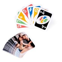 """Juego de cartas """"Número uno"""" personalizado"""