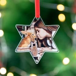 Bola de Navidad mascota de metacrilato muchos diseños